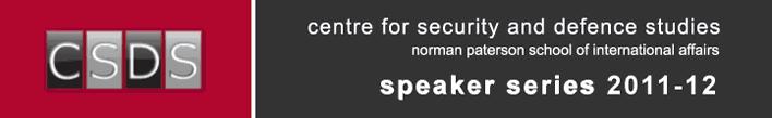 CSDS Speaker Series, 2011-12